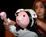 Unicorn Theatre puppetry Photos © Lisa Barnard